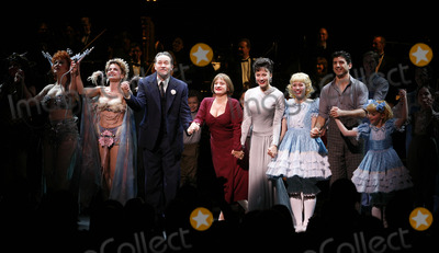 Arthur Laurents Photo - Marilyn Caskey Alison Fraser Boyd Gaines Patti Lupone Laura Benanti Arthur Laurents Leigh Ann Larkin Tony Yazbeck Sami Gayle and cast at the Opening Night Curtain Call for the Summer Stars - Encores Gypsy Opening Night at City Center at NY City Center in New York CityJuly 12 2007Credit McBrideface to face