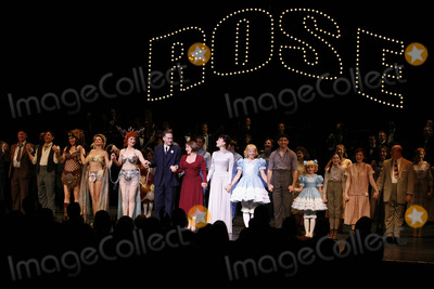 Arthur Laurents Photo - Nancy Opal Marilyn Caskey Alison Fraser Boyd Gaines Patti Lupone Laura Benanti Arthur Laurents Leigh Ann Larkin Tony Yazbeck Sami Gayle and cast at the Opening Night Curtain Call for the Summer Stars - Encores Gypsy Opening Night at City Center at NY City Center in New York CityJuly 12 2007Credit McBrideface to face