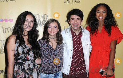 Ashley Boettcher Photo - 08 July 2016 - Burbank Coco Grayson Ashley Boettcher Sloane Morgan Siegel Chandler Kinney Arrivals for the Celebration of Amazons Gortimer Gibbons Life On Normal Street Season 2 premiere held at Racers Edge Indoor Karting Photo Credit Birdie ThompsonAdMedia