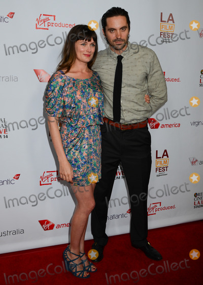 Rhys Coiro Photo - 11 June 2012 - Los Angeles California - Kat Coiro Rhys Coiro Departure Date Premiere during the 2012 Los Angeles Film Festival is a short film from Virgin America Virgin Atlantic Virgin Australia and a Virgin Produced film at 35000 feet held at Regal Cinemas LA LIVE Photo Credit Birdie ThompsonAdMedia