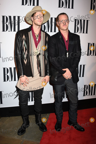 Tyler Hubbard Photo - 03 November 2015 - Nashville Tennessee - Brian Kelley Tyler Hubbard Florida Georgia Line 63rd Annual BMI Country Awards 2015 BMI Country Awards held at BMI Music Row Headquarters Photo Credit Laura FarrAdMedia