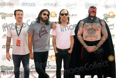 Andy Williams Photo - 22 July 2015 - Cleveland Ohio - Jordan Buckley Stephen Micciche and Daniel Davison and Andy Williams of the band Everytime I Die attend the 2015 Alternative Press Music Awards at Quicken Loans Arena Photo Credit Jason L NelsonAdMedia