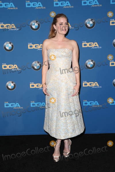 Amy Adams Photo - 04 February 2016 -  Beverly Hills California - Amy Adams 69th Annual Directors Guild Of America Awards - Press Room held at The Beverly Hilton Hotel Photo Credit Faye SadouAdMedia