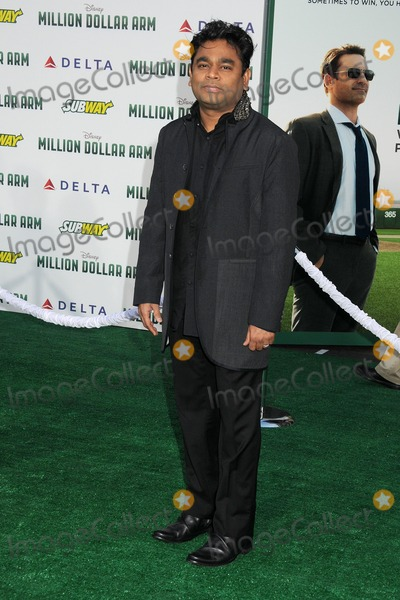 AR Rahman Photo - 06 May 2014 - Hollywood California - AR Rahman Million Dollar Arm Los Angeles Premiere held at the El Capitan Theatre Photo Credit Byron PurvisAdMedia