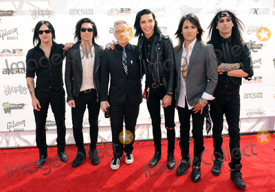 Andy Biersack Photo - 22 July 2015 - Cleveland Ohio - Jinx Jake Pitts Andy Biersack Ashley Purdy and Christian CC Coma of the band Black Veil Brides and Alternative Press CEOFounder Mike Shea attend the 2015 Alternative Press Music Awards at Quicken Loans Arena Photo Credit Jason L NelsonAdMedia
