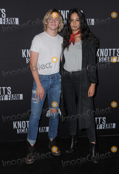 Ross Lynch Photo - 30 September 2016 - Buena Park California Ross Lynch Courtney Eaton Knotts Scary Farm Black Carpet Party held at  Knotts Berry Farm Photo Credit Birdie ThompsonAdMedia