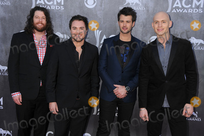 Chris Thompson Photo - 06 April 2014 - Las Vegas Nevada - James Young Mike Eli Chris Thompson Jon Jones Eli Young Band 49th Annual Academy of Country Music Awards - Arrivals held at the MGM Grand Hotel Photo Credit Byron PurvisAdMedia