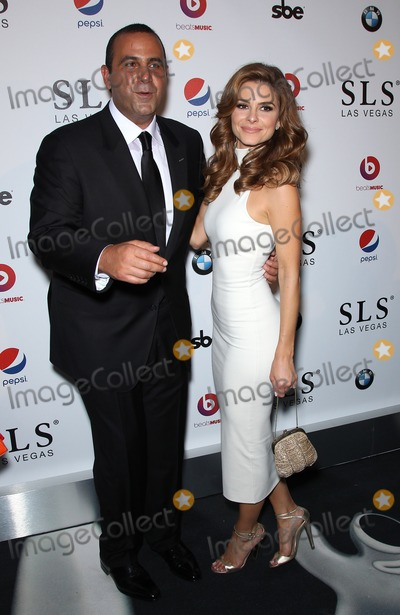 Sam Nazarian Photo - 22 August 2014 - Las Vegas Nevada - Sam Nazarian Maria Menounous SLS Las Vegas celebrates its Grand Opening with a celebrity studded red carpet  Photo Credit MJTAdMedia