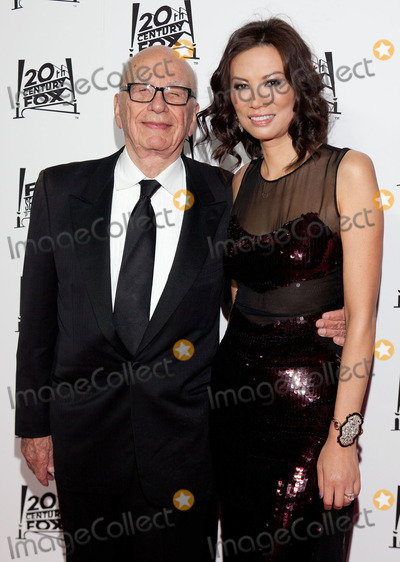 Rupert Murdoch Photo - 24 February 2013 - Hollywood California - Rupert Murdoch Wendy Murdoch 2013 Twentieth Century Fox  Fox Searchlight Pictures Oscar Party held at  Lure Photo Credit Dan ScottAdMedia