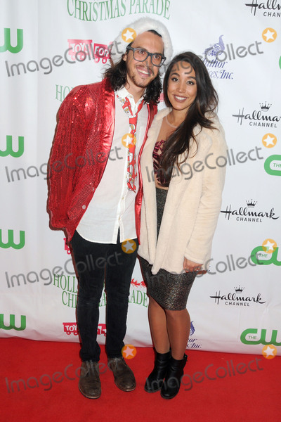 Alex Kinsey Photo - 29 November 2015 - Hollywood California - Alex Kinsey Sierra Deaton 84th Annual Hollywood Christmas Parade held on Hollywood Blvd Photo Credit Byron PurvisAdMedia