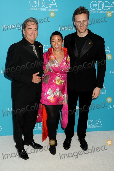 Ane Crabtree Photo - 17 February 2015 - Beverly Hills California - Beau Bridges Ane Crabtree Teddy Sears 17th Annual Costume Designers Guild Awards held at the Beverly Hilton Hotel Photo Credit Byron PurvisAdMedia