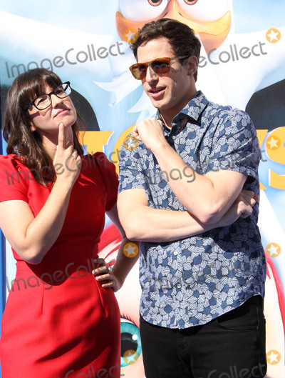 Andy Samberg Photo - 17 September 2016 - Los Angeles California - Katie Crown and Andy Samberg Storks Los Angeles Premiere held at the Regency Village Theatre in Los Angeles Photo Credit AdMedia