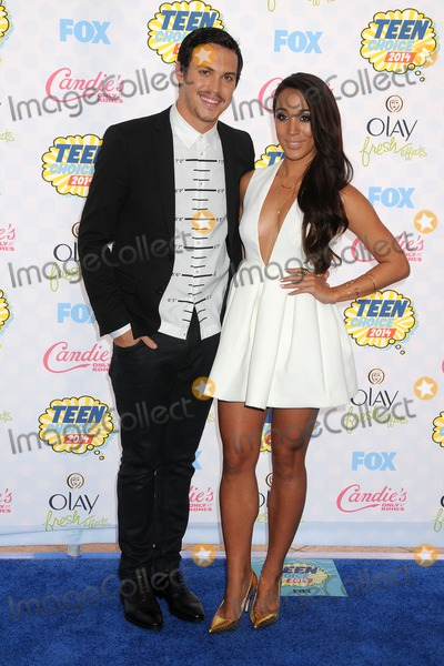 Alex Kinsey Photo - 10 August 2014 - Los Angeles California - Alex Kinsey Sierra Deaton Teen Choice Awards 2014 - Arrivals held at the Shrine Auditorium Photo Credit Byron PurvisAdMedia