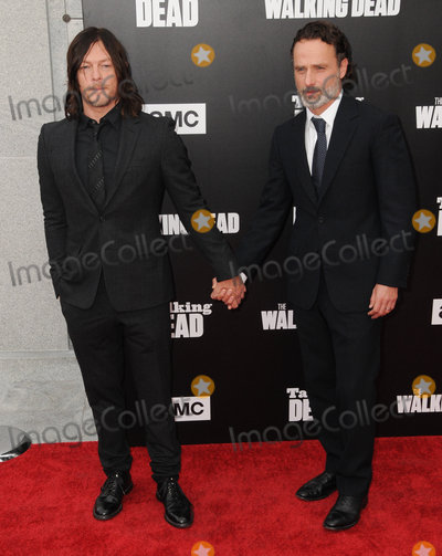 Andrew Lincoln Photo - 23 October 2016 - Hollywood California Norman Reedus Andrew Lincoln AMC Presents Live 90-Minute Special Edition Of Talking Dead held at Hollywood Forever Cemetery  Photo Credit Birdie ThompsonAdMedia