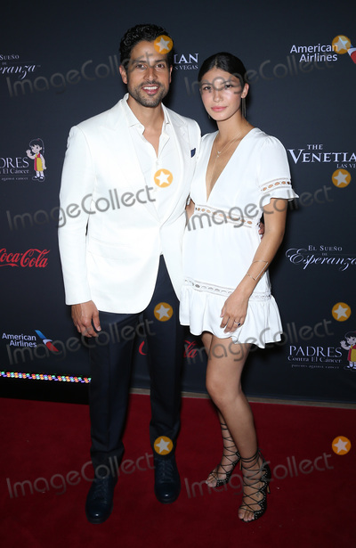 Adam Rodriguez Photo - 20 August 2016 - Las Vegas Nevada - Adam Rodriguez Grace Gail Eva Longoria hosts Padre Contra El Cancers 2016 El Sueno De Esperanza Celebration at The Venetian Photo Credit MJTAdMedia