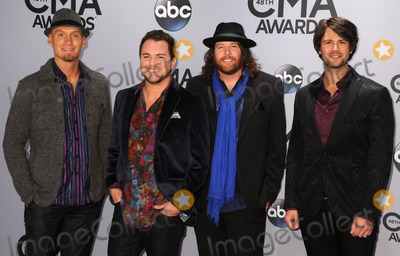 Chris Thompson Photo - 05 November 2013 - Nashville Tennessee - James Young Jon Jones Mike Eli Chris Thompson Eli Young Band 47th CMA Awards Country Musics Biggest Night held at Bridgestone Arena Photo Credit Byron PurvisAdMedia