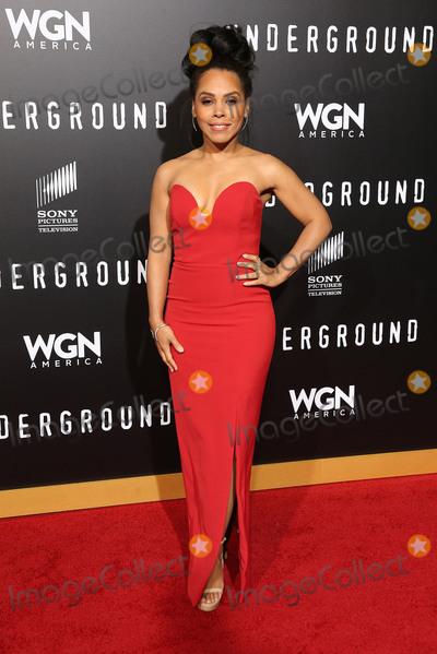 Amirah Vann Photo - 28 February 2017 - Westwood California - Amirah Vann WGN Americas Underground Season 2 Premiereheld at Westwood Village Photo Credit AdMedia