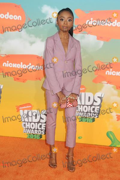 Skai Jackson Photo - 12 March 2016 - Inglewood California - Skai Jackson 2016 Nickelodeon Kids Choice Awards held at The Forum Photo Credit Byron PurvisAdMedia