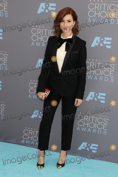 Aya Cash Photo - 17 January 2016 - Santa Monica California - Aya Cash 21st Annual Critics Choice Awards - Arrivals held at Barker Hangar Photo Credit Byron PurvisAdMedia