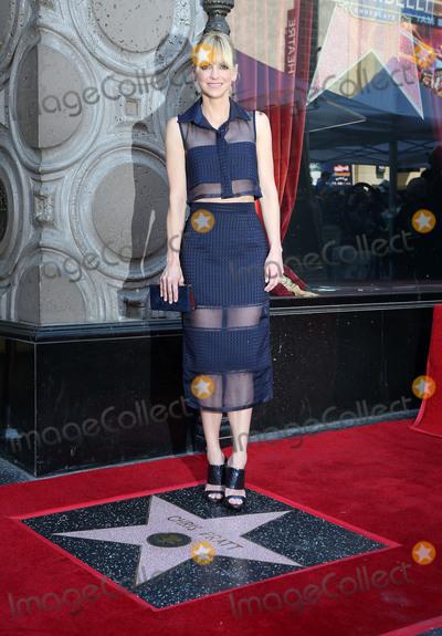 Anna Faris Photo - 21 April 2017 - Hollywood California - Anna Faris Chris Pratt Honored with Star on the Hollywood Walk Of Fame Photo Credit AdMedia