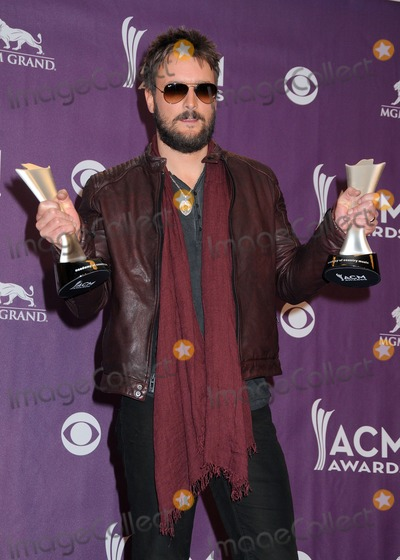 Eric Church Photo - 7 April 2013 - Las Vegas California - Eric Church 48th Annual Academy of Country Music Awards - Press Room held at the MGM Grand Garden Arena Photo Credit Byron PurvisAdMedia