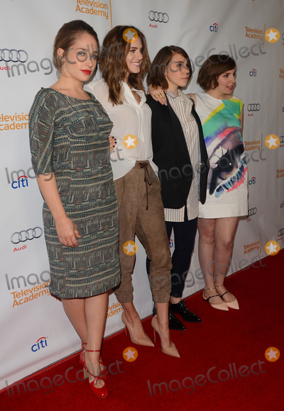 Lena Dunham Photo - 13 March 2014 - North Hollywood California - Jemima Kirke Allison Williams Zosia Mamet Lena Dunham  The Television Academy Presents An Evening With Girls at Leonard H Goldenson Theatre in North Hollywood Photo Credit Birdie ThompsonAdMedia