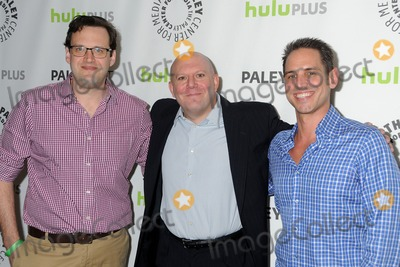 Andrew Kreisberg Photo - 9 March 2013 - Beverly Hills California - Andrew Kreisberg Marc Guggenheim Greg Berlanti 30th Annual Paley Fest - Arrow held at the Saban Theatre Photo Credit Byron PurvisAdMedia