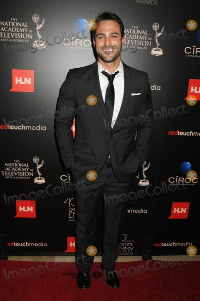 Marco Dapper Photo - 16 June 2013 - Beverly Hills California - Marco Dapper 40th Annual Daytime Emmy Awards - Arrivals held at the Beverly Hilton Hotel Photo Credit Byron PurvisAdMedia