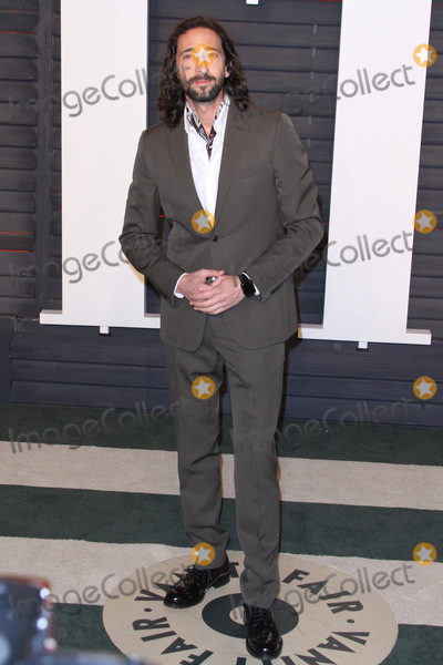 Adrien Brody Photo - 28 February 2016 - Beverly Hills California - Adrien Brody 2016 Vanity Fair Oscar Party hosted by Graydon Carter following the 88th Academy Awards held at the Wallis Annenberg Center for the Performing Arts Photo Credit AdMedia