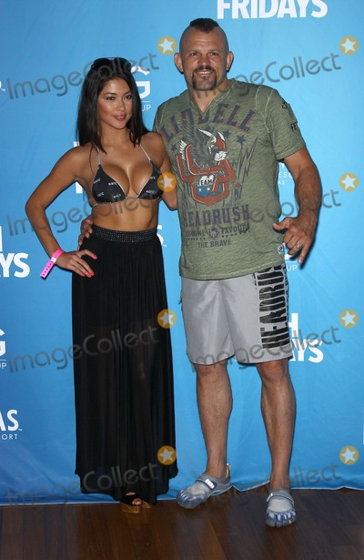 Chuck Liddell Photo - 05 July 2012 - Las Vegas Nevada - Arianny Celeste Chuck Liddell Chuck Liddell Arianny Celeste and UFC Octagon Girls host official UFC Fight Week Pool Party at Palms Pool  BungalowsPhoto Credit MJTAdMedia