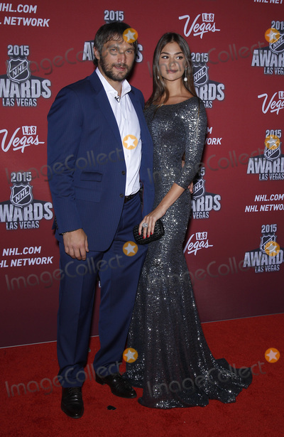 Alex Ovechkin Photo - 24 June 2015 - Las Vegas Nevada -  Alex Ovechkin Nastya Shubskaya 2015 NHL Awards Red Carpet Arrivals at MGM Grand Hotel and Casino  Photo Credit MJTAdMedia