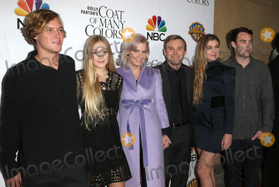 Andrea Bernard Schroder Photo - 02 December 2015 - Hollywood California - Andrea Bernard Schroder Ricky Schroder Cambrie Schroder Luke  Dolly Partons Coat of Many Colors Screening held at the  Egyptian Theatre Photo Credit SammiAdMedia