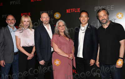 Alan Yang Photo - 23 May 2017 -  Beverly Hills California - Victor Fresco Chelsea Handler BIll Burr Marta Kauffman Alan Yang Judd Apatow Netflix Comedy Panel For Your Consideration Event held at Netflix FYSee Space Photo Credit Faye SadouAdMedia