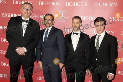 Steve Carell Photo - 2 January 2016 - Palm Springs California - Adam McKay Steve Carell Jeremy Strong Finn Wittrock 27th Annual Palm Springs International Film Festival Awards Gala held at the Palm Springs Convention Center Photo Credit Byron PurvisAdMedia