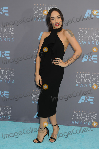 Cleopatra Coleman Photo - 17 January 2016 - Santa Monica California - Cleopatra Coleman 21st Annual Critics Choice Awards - Arrivals held at Barker Hangar Photo Credit Byron PurvisAdMedia