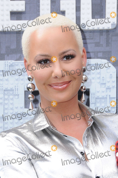 Amber Rose Photo - 04 February 2017 - Westwood California - Amber Rose Premiere of Warner Bros Pictures The LEGO Batman Movie  held at the Regency Village Theater Photo Credit Birdie ThompsonAdMedia