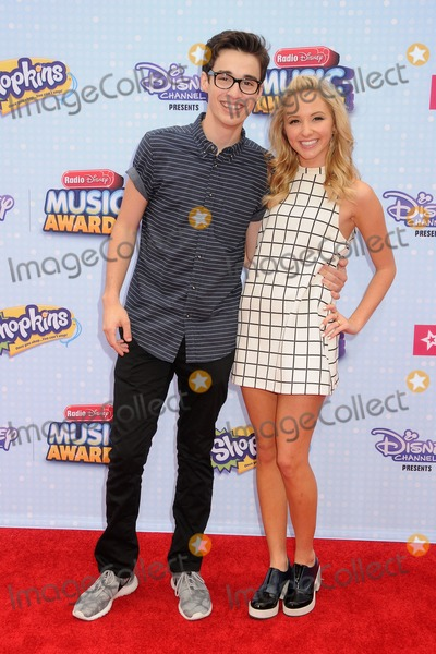 Audrey Whitby Photo - 25 April 2015 - Los Angeles California - Joey Bragg Audrey Whitby 2015 Radio Disney Music Awards held at Nokia Theatre LA Live Photo Credit Byron PurvisAdMedia
