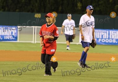 Donna DErrico Photo - 3 July 2011 - Anaheim California - Donna DErrico Steve Garveys Celebrity Softball Game for ALS Research Held At Angels Stadium Photo Credit Kevan BrooksAdMedia