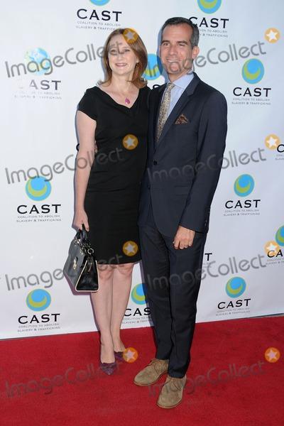 Amy Wakeland Photo - 29 May 2014 - Los Angeles California - Amy Wakeland Eric Garcetti 16th Annual From Slavery to Freedom Gala Event held at The Skirball Center Photo Credit Byron PurvisAdMedia