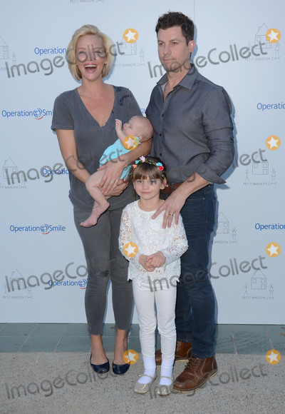 Ashley Scott Photo - 21 November - Beverly Hills Ca - Ashley Scott Ilya Vue Hart Ada Hart Steve Hart Arrivals for the Petit Maison Chic And Operation Smile Kids Charity Fashion Show held at a private residence Photo Credit Birdie ThompsonAdMedia