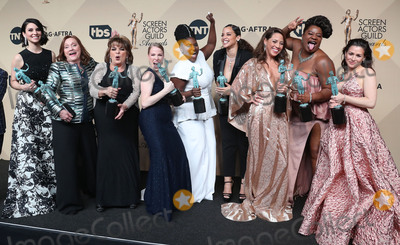Annie Golden Photo - 29 January 2017 - Los Angeles California - Danielle Brooks Selenis Leyva Adrienne C Moore Yael Stone Madeline Brewer Annie Golden Emma Myles Lin Tucci Beth Fowler 23rd Annual Screen Actors Guild Awards held at The Shrine Expo Hall Photo Credit F SadouAdMedia