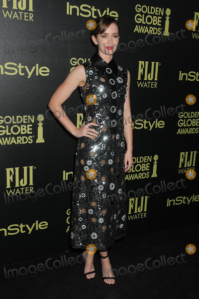 Emily Blunt Photo - 18 November 2015 - West Hollywood California - Emily Blunt Hollywood Foreign Press Association and InStyle Celebrate The 2016 Golden Globe Award Season held at Ysabel Photo Credit Byron PurvisAdMedia