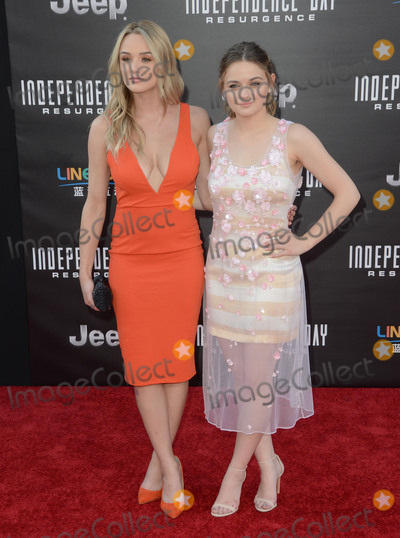 Hunter King Photo - 20 June 2016 - Hollywood Hunter King Joey King Arrivals for the Premiere Of 20th Century Foxs Independence Day Resurgence held at TCL Chinese Theater Photo Credit Birdie ThompsonAdMedia