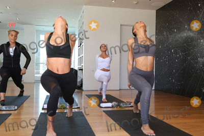 Adrienne Bailon Photo - 31 March 2017 - Beverly Hills California - Adrienne Eliza Houghton Adrienne Bailon Draya Michele and Friends at AloYoga Photo Credit AdMedia
