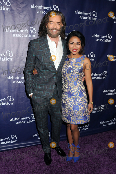 Karen David Photo - 9 March 2016 - Beverly Hills California - Timothy Omundson Karen David 24th Annual A Night At Sardis Benefit Gala for the Alzheimers Association held at The Beverly Hilton Hotel Photo Credit Byron PurvisAdMedia