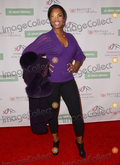 Omarosa Photo - 07 January  - West Hollywood Ca - Omarosa Arrivals for the 7th Annual Unbridled Eve Derby Prelude Party Derby Does Hollywood held at The London West Hollywood Photo Credit Birdie ThompsonAdMedia