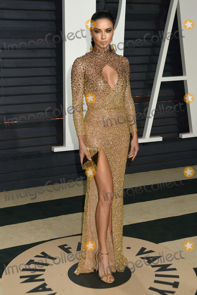 Adriana Lima Photo - 26 February 2017 - Beverly Hills California - Adriana Lima 2017 Vanity Fair Oscar Party held at the Wallis Annenberg Center Photo Credit Byron PurvisAdMedia