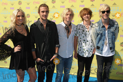 Ross Lynch Photo - 16 August 2015 - Los Angeles California - Rydel Lynch Rocky Lynch Ross Lynch Ellington Ratliff Riker Lynch R5 Teen Choice Awards 2015 - Arrivals held at the USC Galen Center Photo Credit Byron PurvisAdMedia