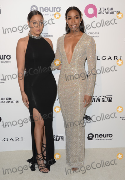Anthony Kelly Photo - 28 February 2016 - West Hollywood California - LaLa Anthony Kelly Rowland 24th Annual Elton John Academy Awards Viewing Party sponsored by Bvlgari MAC Cosmetics Neuro Drinks and Diana Jenkins held at West Hollywood Park Photo Credit Birdie ThompsonAdMedia