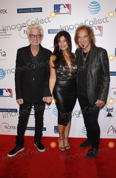 The Animals Photo - 20 November 2015 - Las Vegas Nevada - Kevin Cronin Dave Amato  Tony La Russas 4th Annual Leaders  Legends gala benefitting the Animal Rescue Foundation at Aria Resort and Casino Photo Credit MJTAdMedia